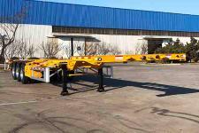 中集12.3米35.3噸3軸集裝箱運輸半掛車(ZJV9405TJZQDA)