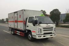 国六江铃易燃气体厢式运输车