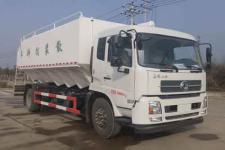 国六东风天锦散装饲料运输车厂家价格13329882498