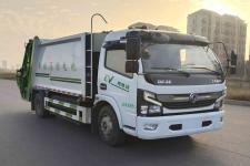 国六东风大多利卡8方纯电动压缩垃圾车价格13635739799