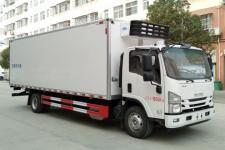庆铃7米厢冷藏车冷链物流车海鲜运输车生产厂家销售价格表