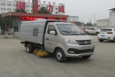 中汽力威牌HLW5030TSL6SC型扫路车