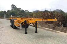 中集12.2米33.5吨3轴集装箱运输半挂车(ZJV9400TJZ)