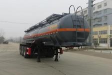 特運10米31噸3軸腐蝕性物品罐式運輸半掛車(DTA9401GFWA)