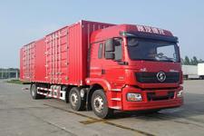 陕汽国五前四后四厢式货车245-408马力10-15吨(SX5250XXYMA9)