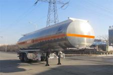 陆平机器9.9米29.7吨2轴铝合金运油半挂车(LPC9354GYYS)