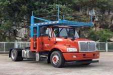 柳特神力牌LZT5185TBQK2E5R7A90型车辆运输半挂牵引车图片