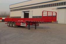 豫前通12米33.4吨3轴栏板半挂车(HQJ9400LBE)
