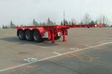 駿通8.5米34.8噸3軸危險品罐箱骨架運輸半掛車(JF9400TWY20)