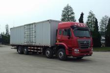 豪瀚国五前四后六厢式货车340-604马力15-20吨(ZZ5315XXYN46GWE1)
