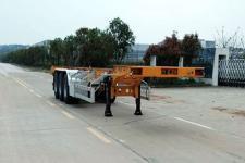 中集12.5米35.2吨3轴集装箱运输半挂车(ZJV9409TJZSZ)