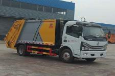 国六 东风多利卡 8方压缩式垃圾车厂家最低价