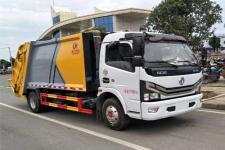 国六东风多利卡6方压缩式垃圾车厂家直销  最大让利