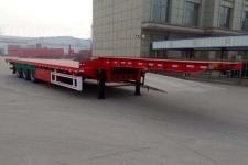 皖舒欢畅12.5米32.9吨3轴低平板半挂车(WYC9400TDP)