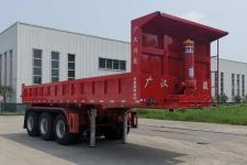 蜀汽8米33.1吨3轴自卸半挂车(GCJ9400Z)