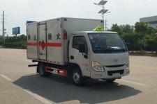 国六跃进小型易燃气体厢式运输车