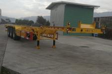常春宇创14米35.2吨3轴危险品罐箱骨架运输半挂车(FCC9400TWY)