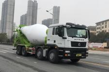 國六重汽混凝土攪拌運輸車