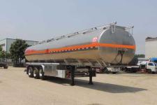 醒狮11.9米33.5吨3轴铝合金运油半挂车(SLS9400GYYA)