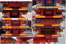 远东汽车牌YDA9401TPB型平板运输半挂车图片