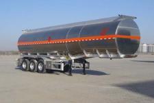昌骅11.8米33.4吨3轴铝合金易燃液体罐式运输半挂车(HCH9400GRYJCA)