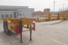 轩畅12.5米34吨3轴集装箱运输半挂车(JFH9400TJZ)