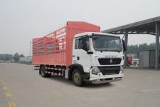豪沃牌ZZ5187CCYK501GE1型仓栅式运输车