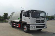 东风多利卡10方压缩式垃圾车多少钱-垃圾车厂家直销
