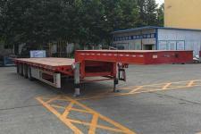 华骏13.8米33.2吨3轴低平板半挂车(ZCZ9401TDPJ)