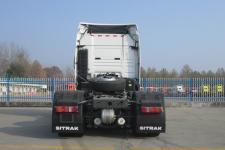 汕德卡牌ZZ4256V324HF1B型牵引汽车图片