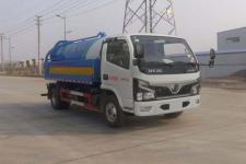 國六東風藍牌清洗吸污車