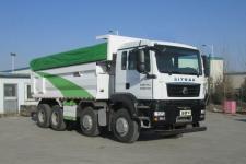 汕德卡自卸式垃圾车