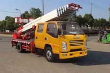 国六江铃32米高空作业搬家车价格