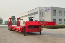梁山宇翔12.5米27.3吨6轴低平板半挂车(YXM9401TDPXZ)