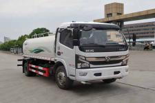国六新款东风多利卡8-10吨绿化喷洒车多少钱-罐车哪家好