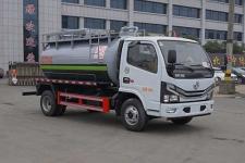 国六东风多利卡5方XZL5040GXW6型吸污车价格