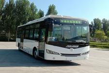 8.1米中通纯电动城市客车