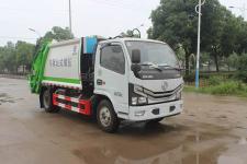 國六東風多利卡5方壓縮式垃圾車