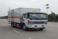 国六东风凯普特易燃气体厢式运输车