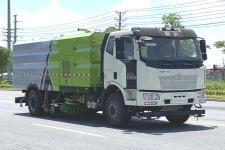 國六 解放J6洗掃車