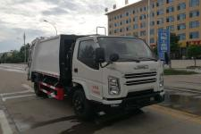 国六 江铃5方压缩式垃圾车