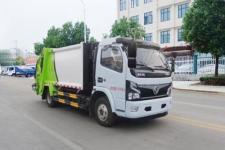 镇江市垃圾车在那里买 国六东风多利卡压缩式垃圾车价格 厂家直销 厂家价格 来电送福利