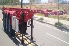 华骏9.7米35.2吨3轴危险品罐箱骨架运输半挂车(ZCZ9401TWYBYK)