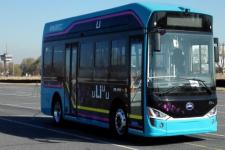 8.5米长白山纯电动城市客车