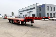 鲁际通12.5米33.5吨3轴低平板半挂车(LSJ9400TDP)