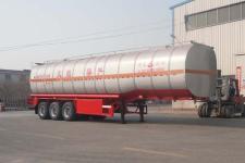 昌骅11.7米30.5吨3轴易燃液体罐式运输半挂车(HCH9401GRYL)