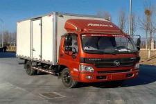 福田欧马可国五单桥厢式运输车118-212马力5吨以下(BJ5049XXY-A3)