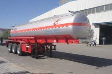 昌骅10米32.5吨3轴腐蚀性物品罐式运输半挂车(HCH9400GFW19)