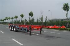 黄海牌DD9401TWY型危险品罐箱骨架运输半挂车图片