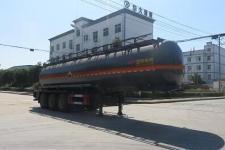 特运11米30.5吨3轴腐蚀性物品罐式运输半挂车(DTA9402GFWA)